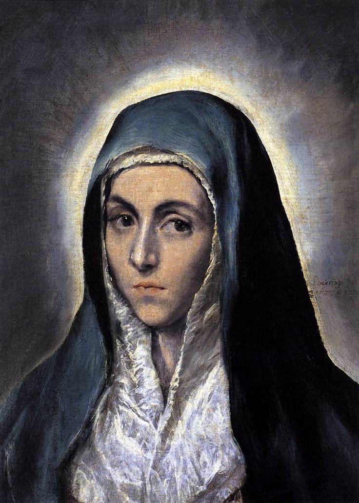 Virgin Mary, El Greco