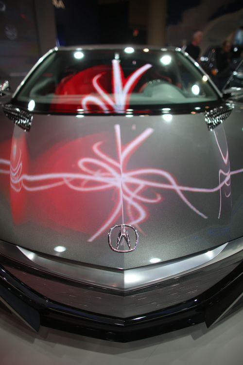 #Acura #NSX Concept #hybrid  #CIAS