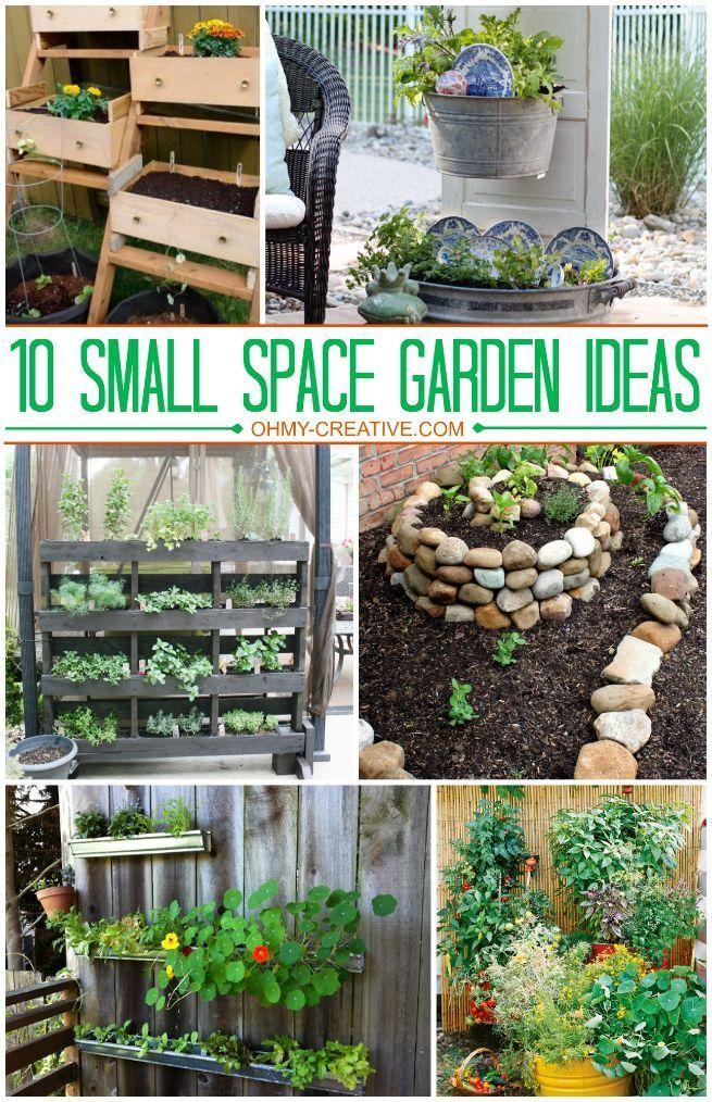 1o small space garden ideas garden ideas small spaces for Edible garden ideas