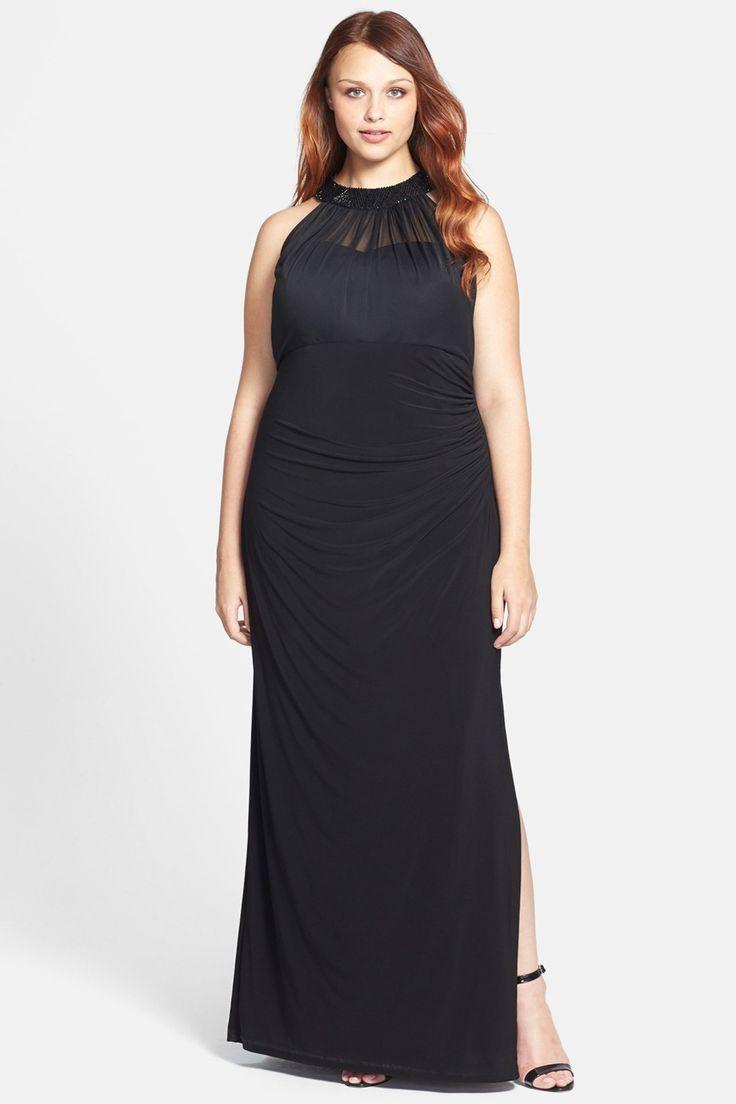 48392cddad6 Plus size clothes Nordstrom Rack. j team plus length dresses
