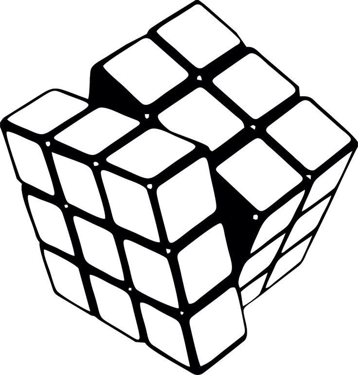картинки кубиками рисовать что