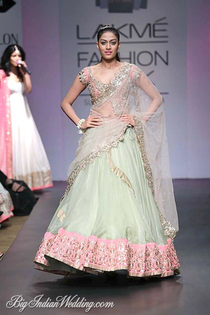 Anushree Reddy Lakme Fashion Week 2014   Lehengas & Sarees   Bigindianwedding