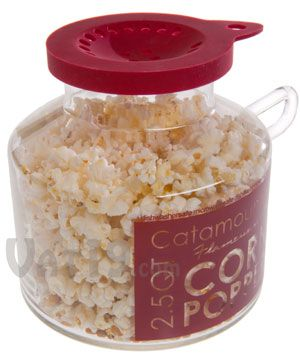 For anyone who LOVES popcorn, this is a  must have. It's perfect for microwave air popping (the corn comes out much fluffier in the microwave)