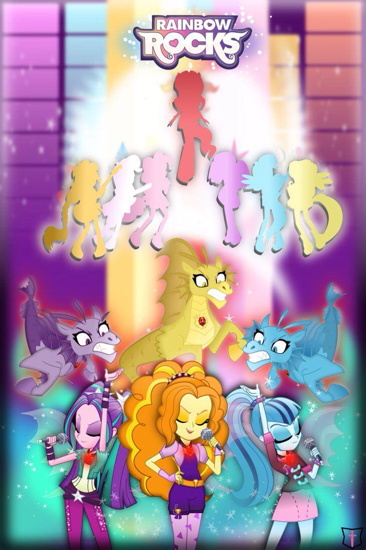 My Little Pony Equestria Girls: Rainbow Rocks ~ Dazzlings vs. Mane 6 (+ Sunset Shimmer)