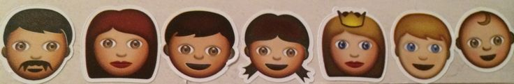The shaytards family in Emojiis
