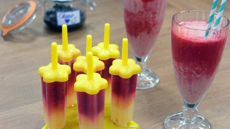 Vegan milkshake, vegan ijsjes en zelfgemaakte vegan choco | VTM Koken