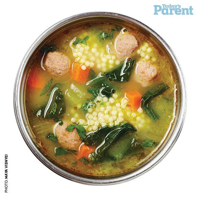 Italian Wedding Soup -- Today's Parent