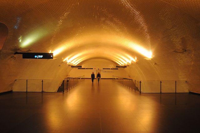 Lisbon Baixa-Chiado metro station