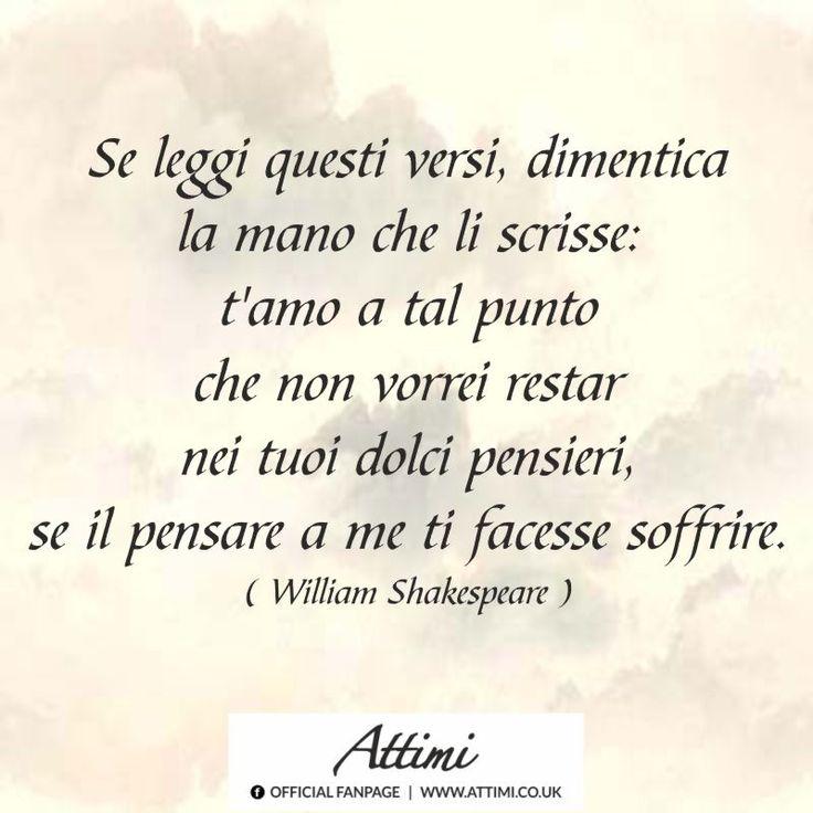 william shakespeare frasi d'amore - Cerca con Google