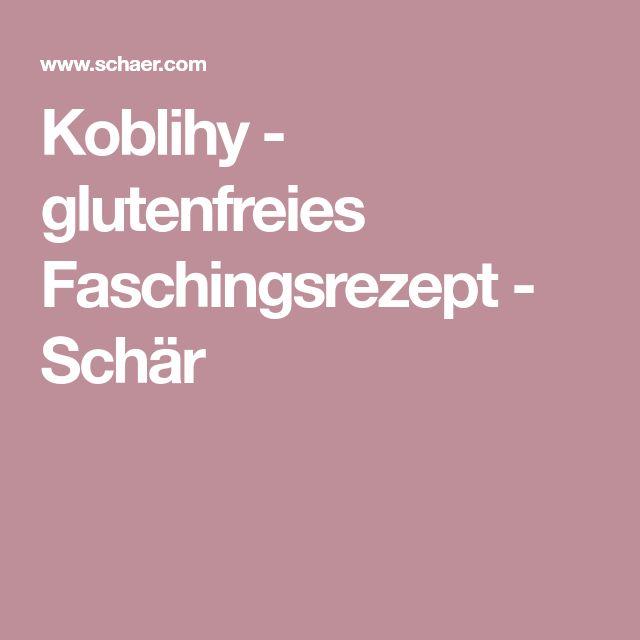 Koblihy - glutenfreies Faschingsrezept - Schär