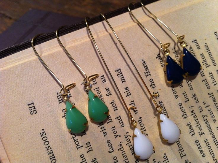 cinder and sage   tearful earrings