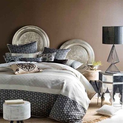 y Ayadi Double Bed Quilt Cover Set Ozsale Black-01702B845