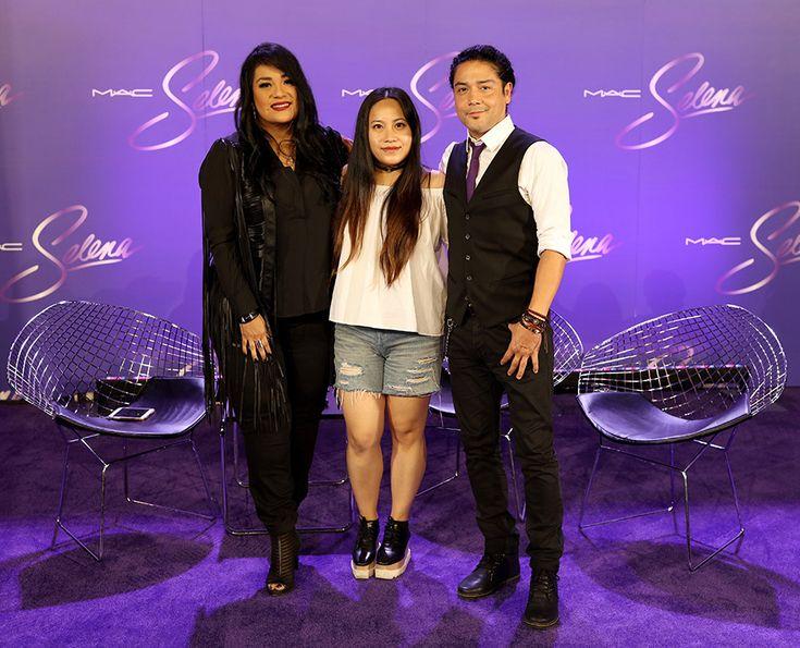 M·A·C Selena Video Interview with Suzette Quintanilla & Chris Pérez in Corpus Christi - nitrolicious.com