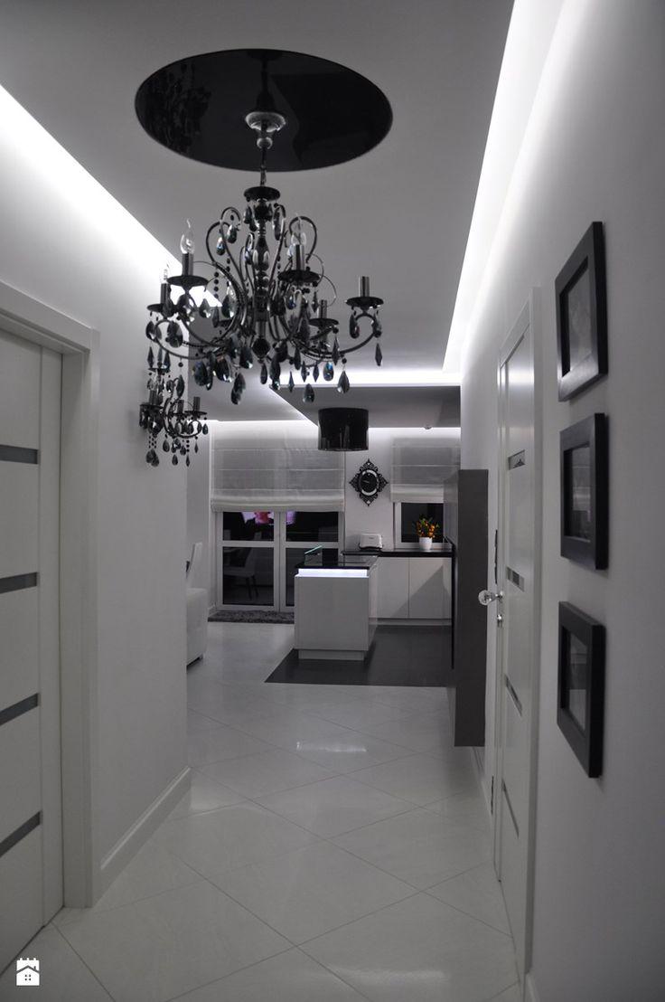 Mieszkanie Białołęka, Warszawa - Hol / przedpokój, styl glamour - zdjęcie od CUBE Interior Design