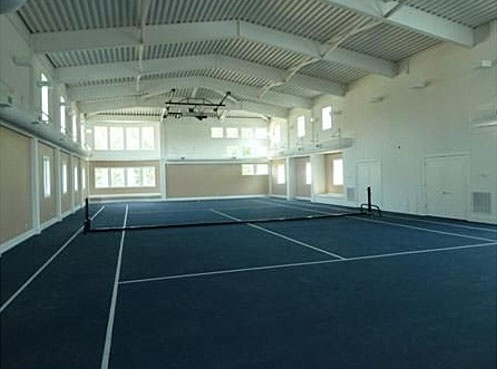 splendid indoor tennis court