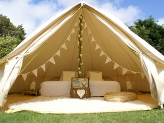 Bell tent weddings - brighton based bell tent hire