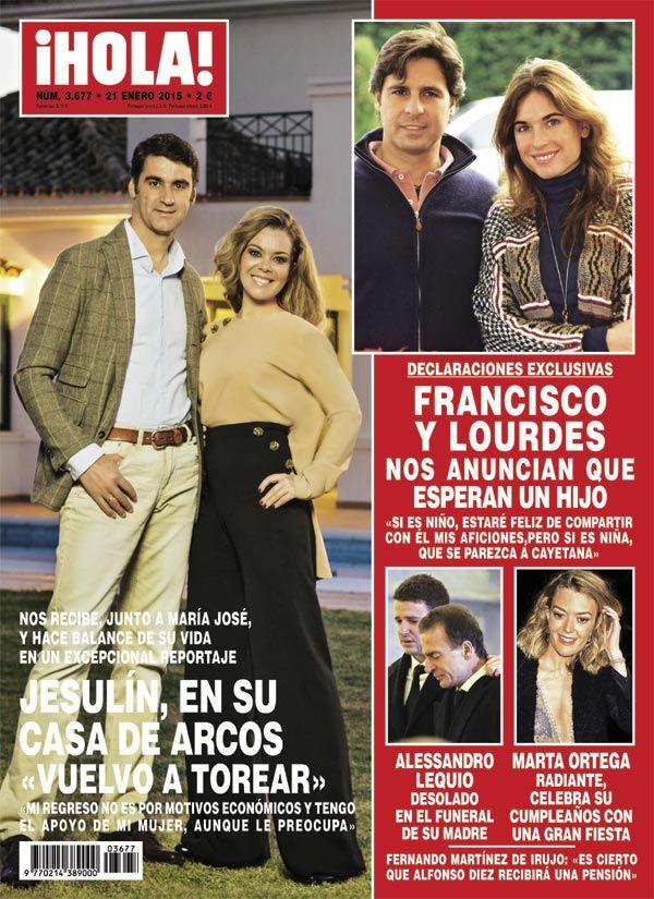 ¡HOLA! descubre que Francisco Rivera y Lourdes Montes van a ser padres