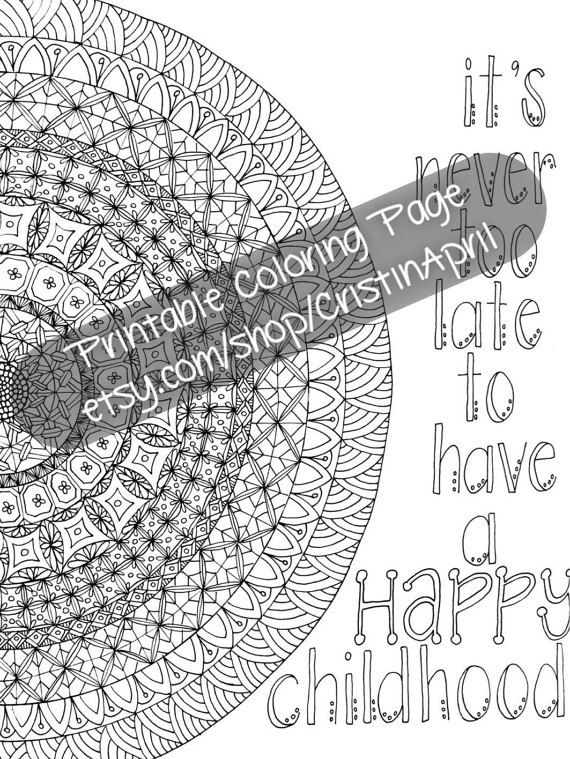 Printable Coloring Pages For Adults With Quotes : 12 best adult coloring pages with cuss words images on pinterest
