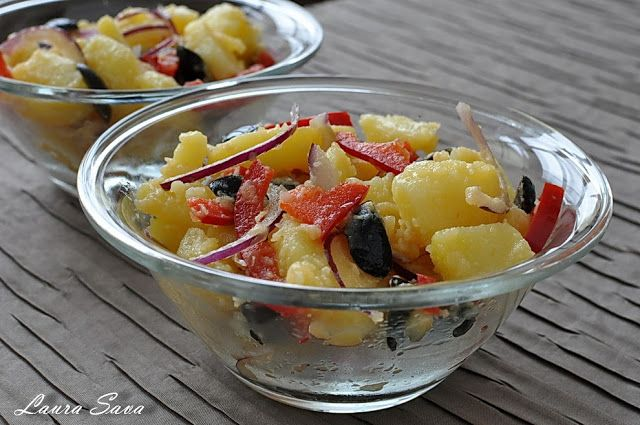 Salata orientala   Retete culinare cu Laura Sava
