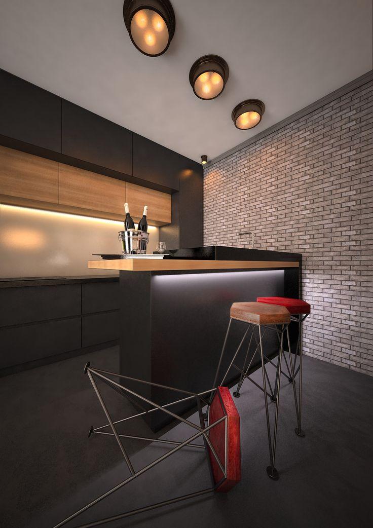 Итальянские каникулы - Кухня в современном стиле | PINWIN - конкурсы для архитекторов, дизайнеров, декораторов