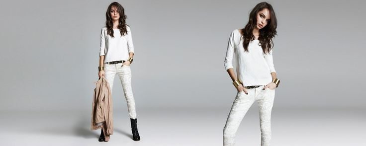 White Fall in Stradivarius
