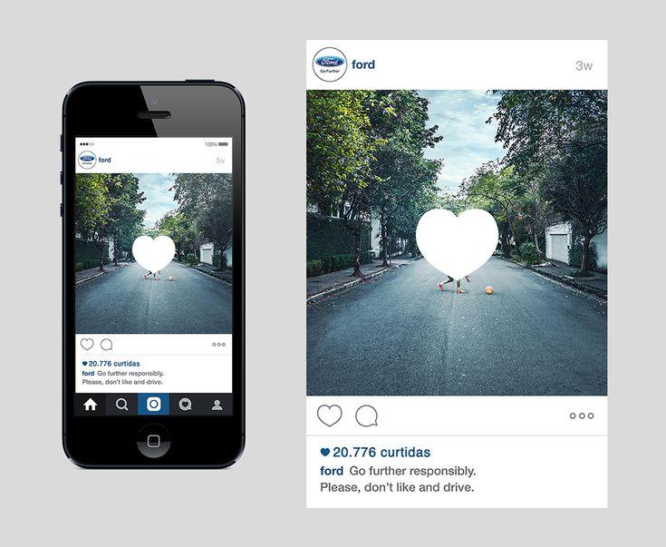 Instagramの投稿で訴える『乗ったら'いいね'するな!』 | AdGang
