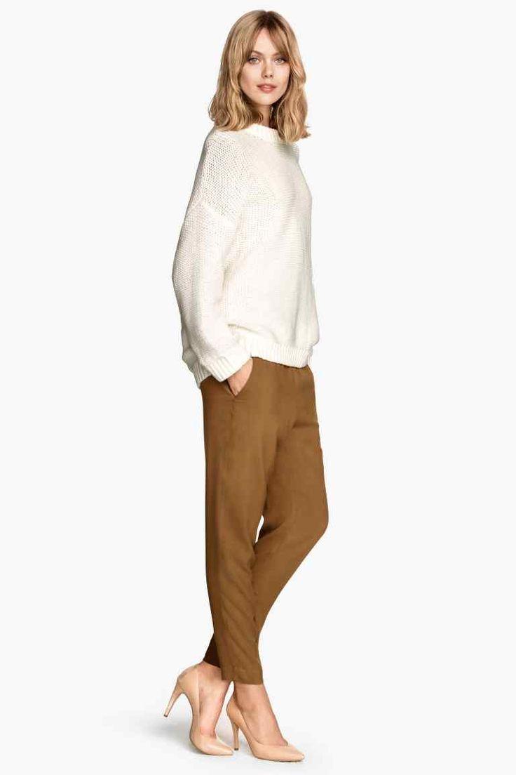 Pantaloni Loose fit   H&M