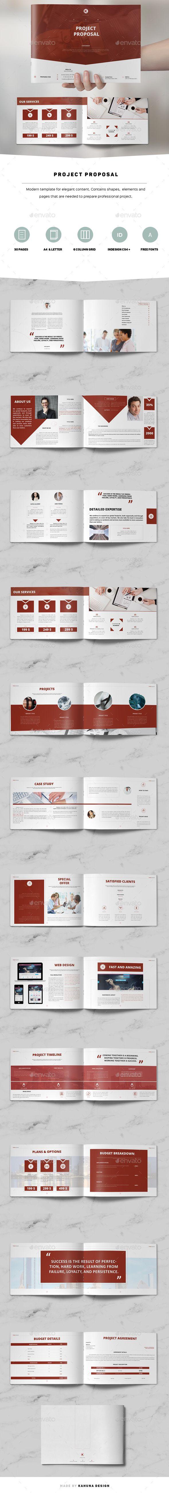 Project Proposal Landscape 02 2695 best Brochure