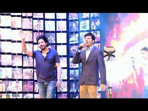 Shahrukh Khan at FAN Movie OFFICIAL Trailer Launch   FULL UNCUT VIDEO - 2.  See the full video at : https://youtu.be/6l_Q1qLWMEk #shahrukhkhan