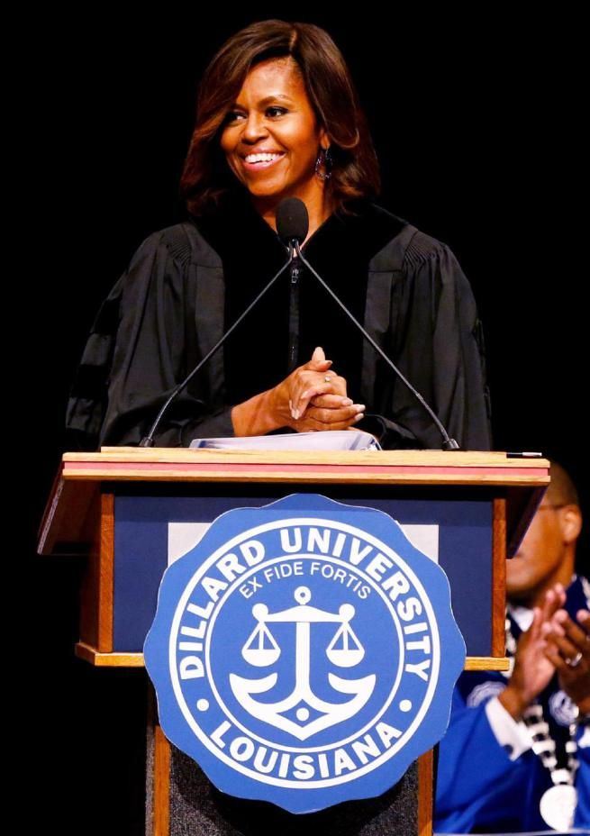 First Lady Commencement Speech at Dillard University |