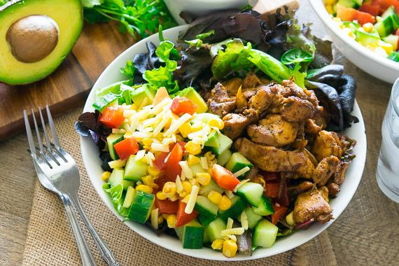 Chicken Burrito Bowl Inspired by Sarah Wilson – I Quit Sugar – You Plate It