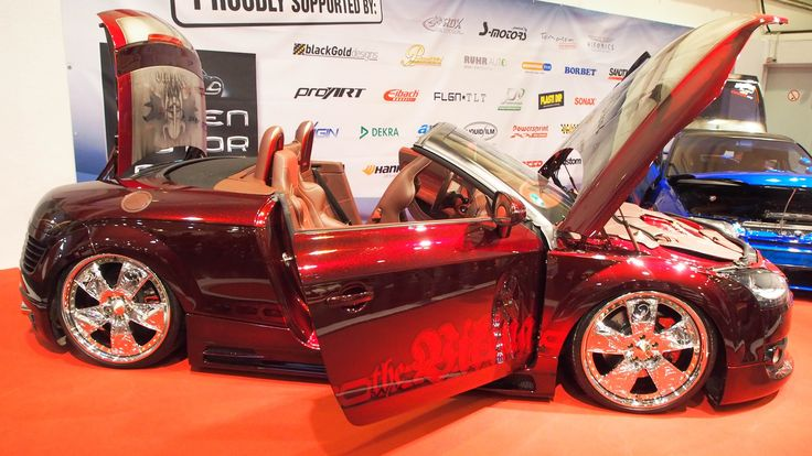 Audi TT Roadster 3.2 at Essen Motorshow - Exterior Walkaround