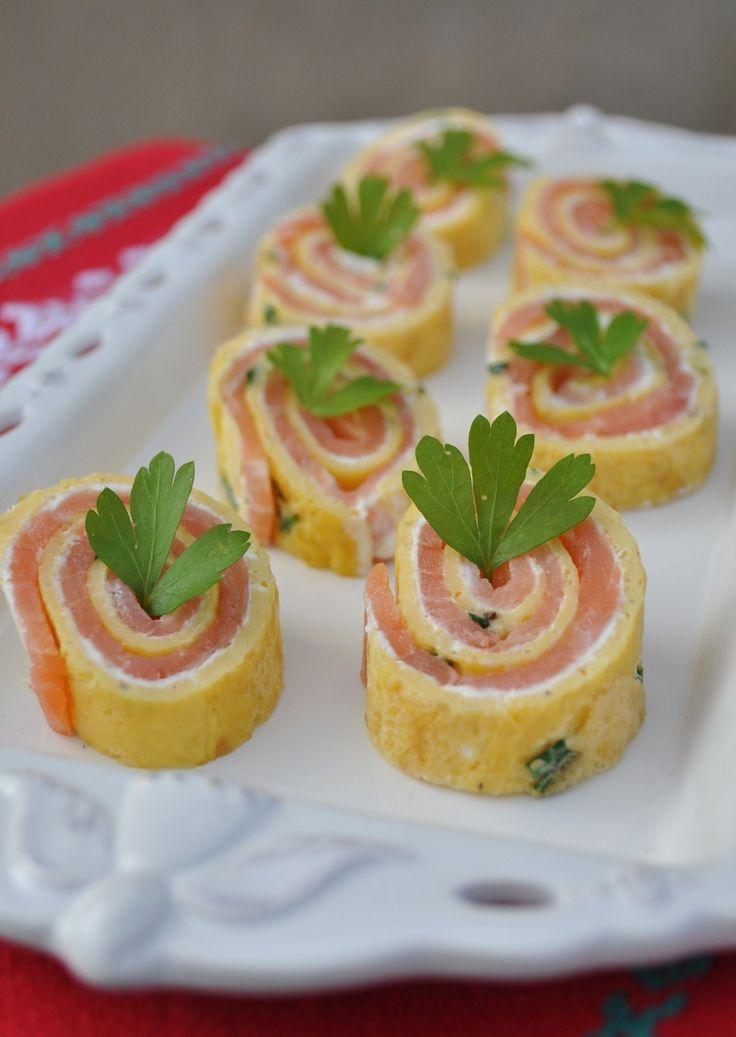 Rolls au saumon fumé - La popotte de Manue #apetizers #apéro