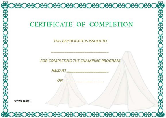Best 25+ Certificate of completion template ideas on Pinterest - certificate of achievement word template