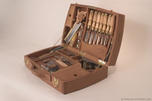 Beautiful wooden tool case. | Made with Wood - Woodworking | Pinterest | Woodworking ...