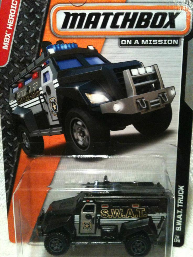 Matchbox S.W.A.T. Truck | Matchbox, Diecast cars, Trucks