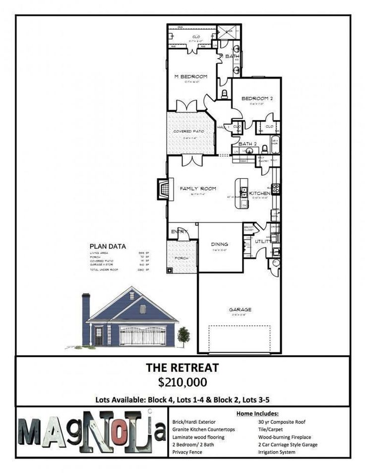 The Retreat Magnolia Homes Retreat House Plans Property Design