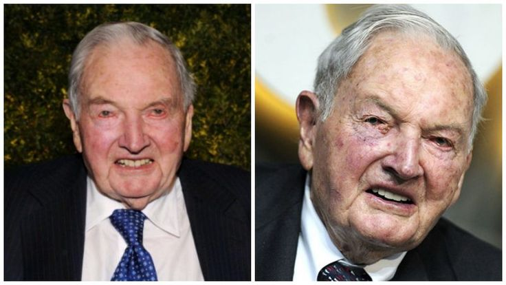 David Rockefeller reportedly dies in his sleep at the age of 101