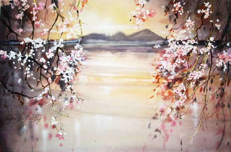 Sakura Curtain