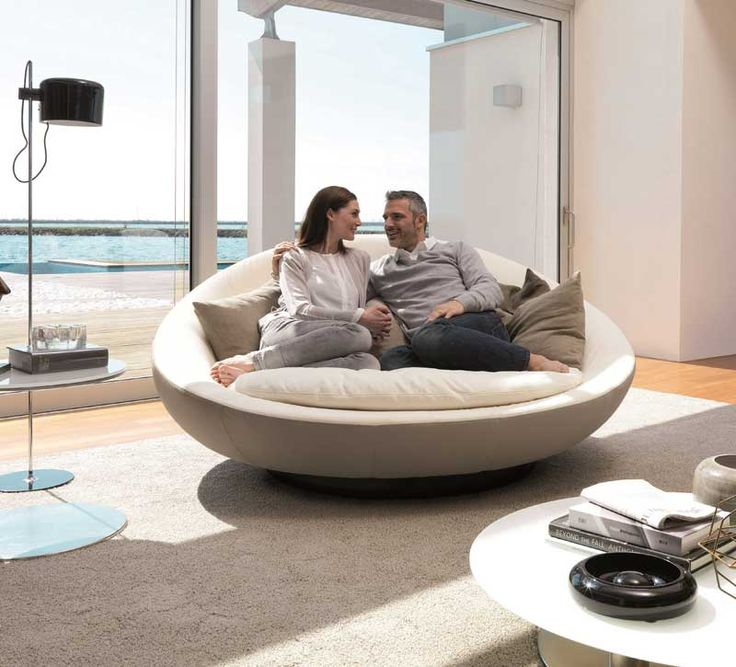 Affordable Runde Sofas Fr Eine Harmonische Und Friedliche Stimmung Zu Hause  Pinterest Rundes Sofa Modernes Sofa Und Sofa With Sofa Halbrund Geschwungen
