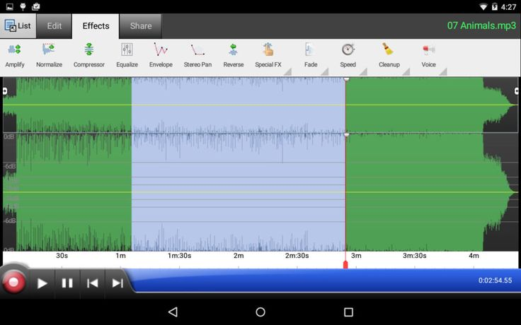 Professional Audio Editing Software Free Download