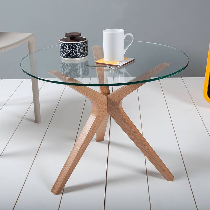 Impressive Original Trio Glass Table Great Ideas