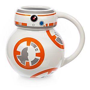 Disney Mug BB-8 de Star Wars | Disney StoreMug BB-8 de Star Wars - Ce superbe mug orn� d'un motif inspir� du personnage BB-8 de Star Wars sera le cadeau id�al pour les aventuriers. Il ressemble au fid�le dro�de et sera parfait pour d�guster votre boisson chaude pr�f�r�e!