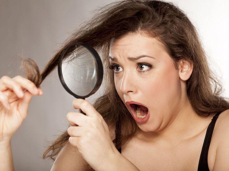 Traitement choc pour cheveux abîmés