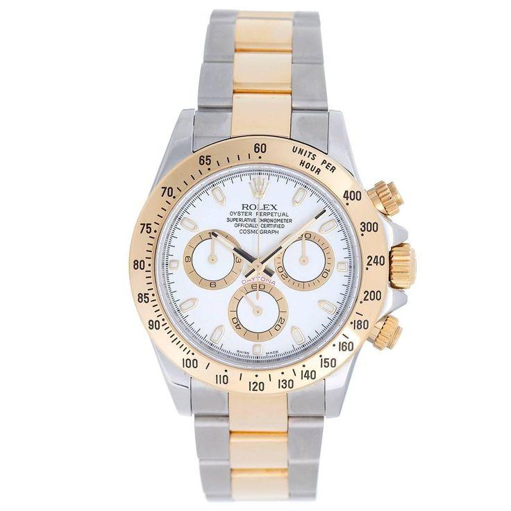 Rolex Daytona Men's Steel & Gold 2-Tone Chronograph Watch 116523