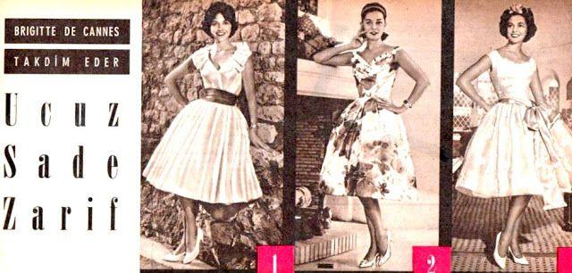 Brigitte De Cannes 1960.