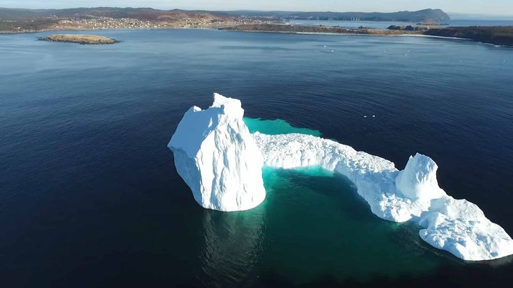 Iceberg in Ferryland – Drone Travel
