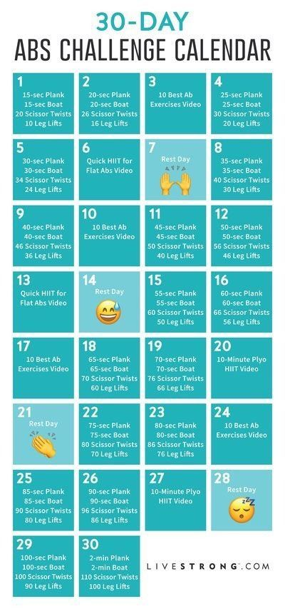 Are You Ready For A New Workout Challenge This Month We Re Coming