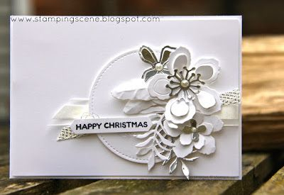 Botanical Builder Framelits from Stampin Up with Zoe Tant #christmas #handmade #stamping