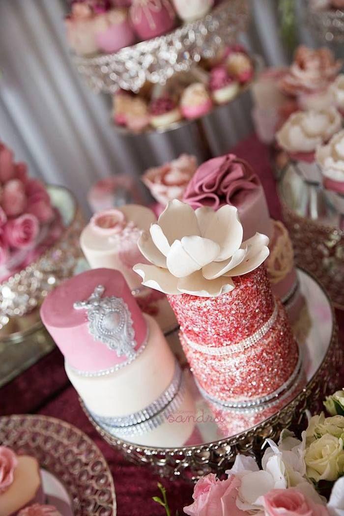 653 Best Mini Cakes Images On Pinterest Mini Cakes